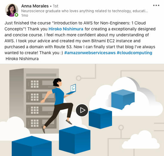 Review for LinkedIn Learning Course on LinkedIn